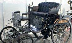 Benz Velo. Tõenäoliselt nägi selline välja Eesti esimene auto