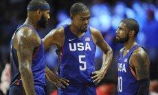 USA korvpallikoondis kruvib tuure Rio olümpiaks