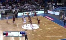 VIDEO: Korvpallikoondis võitis Albaania 53 punktiga. Vaata mängu tipphetki