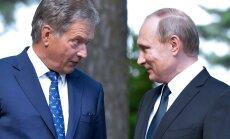 """Toomas Alatalu analüüs: Putin """"paitas"""" Niinistöd ajakirjanike ees"""
