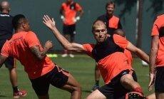 Ragnar Klavan on kohal: nii Liverpoolis kui ka Liverpooliga USA laagris.