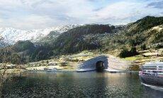 Первый в мире корабельный тоннель появится в Норвегии