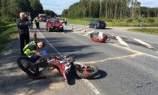 Mootorrattur vs sõiduauto