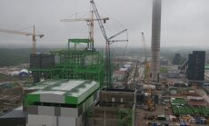 Eesti Energia Auvere elektrijaama aurutrumli paigaldus 26.05.2013