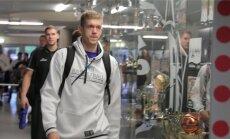 Eesti korvpallikoondislased saabuvad TÜ spordihoonesse