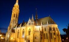 ФОТО читателя Delfi: Нарядная церковь на правом берегу Дуная