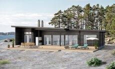 Parima teadustöö kirjutanud Villu Melki tehasemajade tootmise firma OÜ Holzland disainitud saja ruutmeetri suurune elumaja Loghome 25.