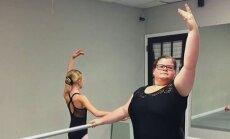 Tõeline eeskuju! Ülekaaluline tüdruk näitab, et ballett pole vaid piitspeenikeste pärusmaa
