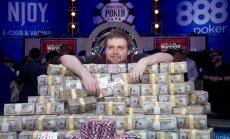 Pokkeri maailmameister Joe McKeehen