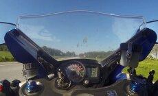 VIDEO: 299 km/h rauas ja nokk püsti igal võimalusel: arutu mootorrattur kihutas mööda Rakvere tänavaid ja Lääne-Virumaa maanteid