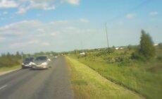 VIDEO: Hulljulge möödasõit – lugeja pääseb napilt kokkupõrkest