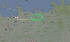 Moskva lennuk ootab maandumist