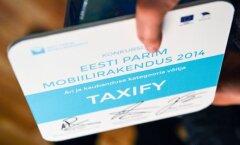 Eestimaine taksoäpp laienes kolme suurde linna kahel mandril