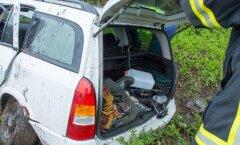 Liiklusõnnetus Saaremaal, Kihelkonna vallas kannatanutega liiklusõnnetus