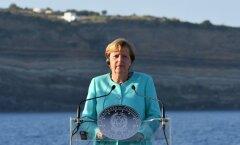 Täna Eestisse saabuv Saksamaa juht Angela Merkel teenib kopsakat palka