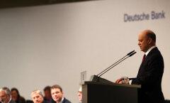 Deutsche Banki tegevjuht ründas EKP-d negatiivsete intresside pärast