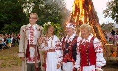 ФОТО: Как в Кохтла-Ярве зажгли огонь Яановой ночи