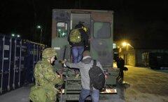 ФОТО DELFI: В Эстонии за 24 часа резервисты собрались на военные учения