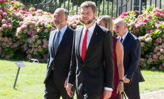 Осиновский на встрече с Олландом: Европа должна сохранить достигнутый уровень