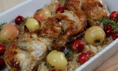 Kadripäeva toidud, kana ja karask