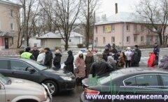 ВИДЕО: Беспрецедентные пробки и накал страстей на российской границе в Ивангороде