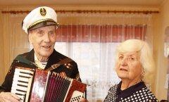 ФОТО: Житель Кохтла-Ярве отметил 102-й день рождения