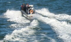 Politsei kiirreageerijate ja piirivalve õppus merel