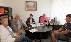 Встреча в горуправе Кохтла-Ярве по проблеме тепла.