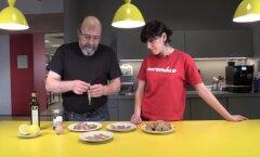 VIDEORETSEPT: Kodumaine gurmee — meritindi <em>carpaccio</em> valmib hetkega ja laualt kaob veelgi kiiremini