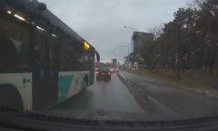 ВИДЕО ЧИТАТЕЛЯ: Водитель столичного автобуса и его неподобающая манера езды