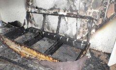 Пожар в съемной квартире и ущерб на 20 тысяч: мог ли стать причиной лежавший на диване плеер?
