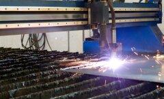 Metallitootmine. Foto on illustratiivne