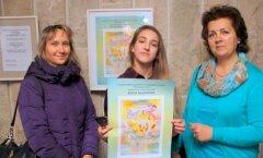 ФОТО: Работа школьницы из Кохтла-Ярве отправилась в США