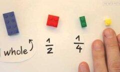 VIDEO: Ülimalt nutikas nipp! Aita lapsel matemaatika LEGOklotside abil selgeks saada!