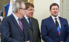 Vasakult Väino Kaldoja, Toomas Luman, Robert Kitt