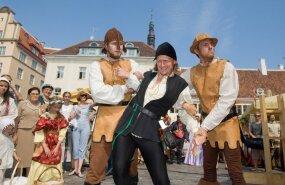 В Таллинне открываются Дни средневековья: Ратушная площадь превратится в ганзейский городок