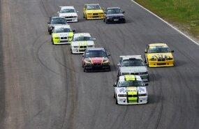 BMW 325 Cup start, autoringrada