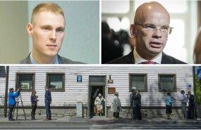 Raimond Kaljulaid, Allar Jõks ja vaidlusaluse süstlavahetuspunkti ruumid aadressil Paldiski mnt 36a