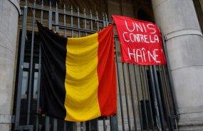 Ühiselt viha vastu, kõlab loosung Belgia lipu kõrval.