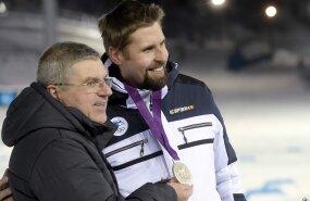 FOTOD: Ruuskanen sai Lahtis kätte Londoni olümpia hõbemedali
