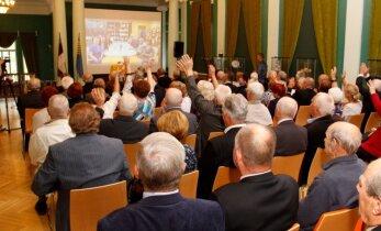 ФОТО: В Кохтла-Ярве прошел телемост с российским городом-побратимом Сланцы