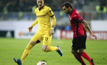 Vigastuspausilt naasnud Zenjov aitas Gabalal Euroopa liigas punktilisa teenida