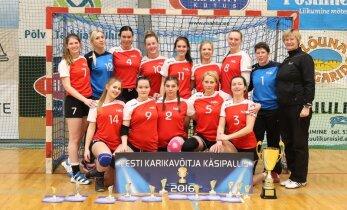 Reval-Sport/Mella krooniti üheksandat korda järjest Eesti käsipalli karikavõitjaks