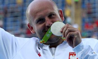 Piotr Malachowski Rio hõbemedal osteti 84 000 dollariga