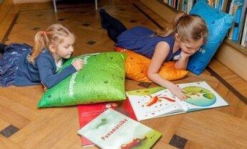 Raamatuseiklused ootavad Sind igal laupäeval Eesti Lastekirjanduse Keskuses