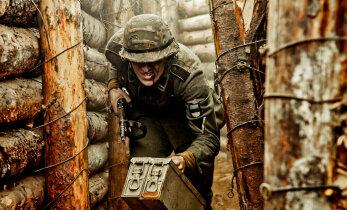 """AINULT DELFIS: Katkend """"1944"""" filmiraamatust! Ehedus tuleb raske tööga: nädal otsa ehitad 300 m kiviaeda, et see siis kaamera ees õhku lasta!"""