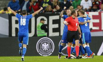 Valitsev maailmameister kaotas sõprusmängus Slovakkiale