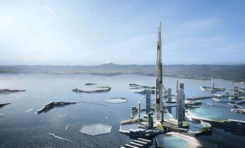 Tuleviku Tokyosse on planeeritud hyperloop ja pooleteise kilomeetrine pilvelõhkuja