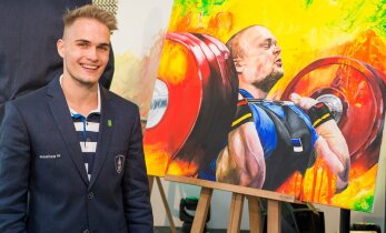 Värvikirev GALERII: Eesti olümpiakangelased lõuendile pannud Karl Markus Antsoni teisedki maalid võtavad sõnatuks