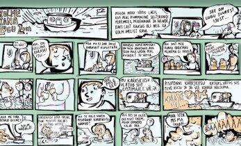 Koomiks: Kolm kana (järg)